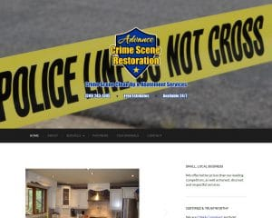 advance crime scene restoration