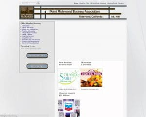 prba old website