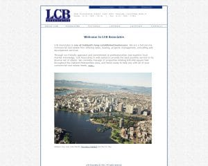 lcb associates old website