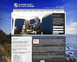 california society of plastic surgeons old website