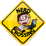 Nerd Crossing Logo
